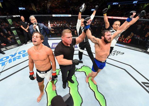UFC 203: Några av helgens vinnare och förlorade på sociala medier