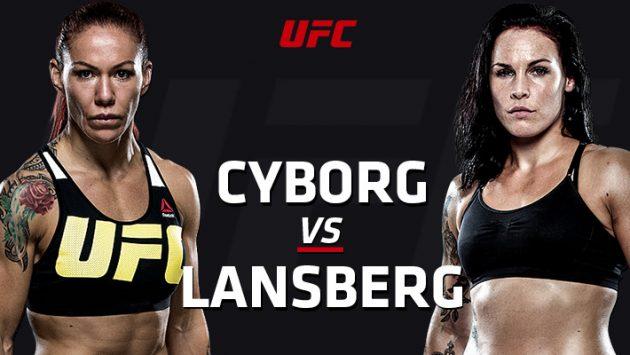 UFC Fight Night 95: Cyborg vs. Länsberg – Livestatistik och Resultat