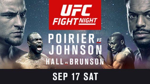 UFC Fight Night 94: Poirier vs. Johnson – Matchkortet, Tiderna och Oddsen