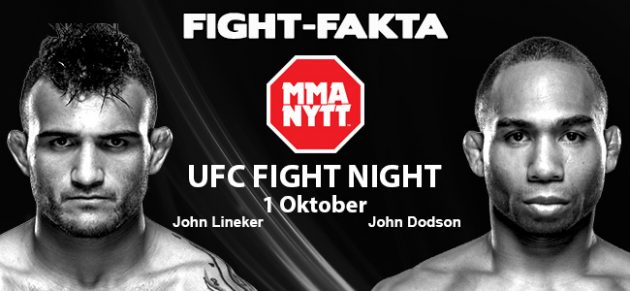 Fight-Fakta: John Lineker vs. John Dodson