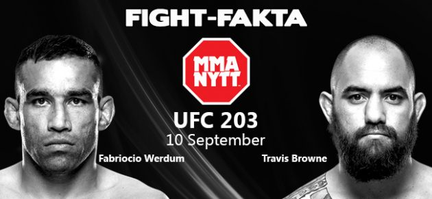 Fight-Fakta: Fabricio Werdum vs. Travis Browne II
