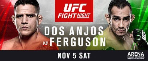 UFC Fight Night 98: Dos Anjos vs. Ferguson – Matchkortet, Tiderna och Oddsen