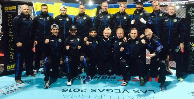 Europeiska Mästerskapen: Sverige kammar hem ett flertal medaljer i Amatör-MMA
