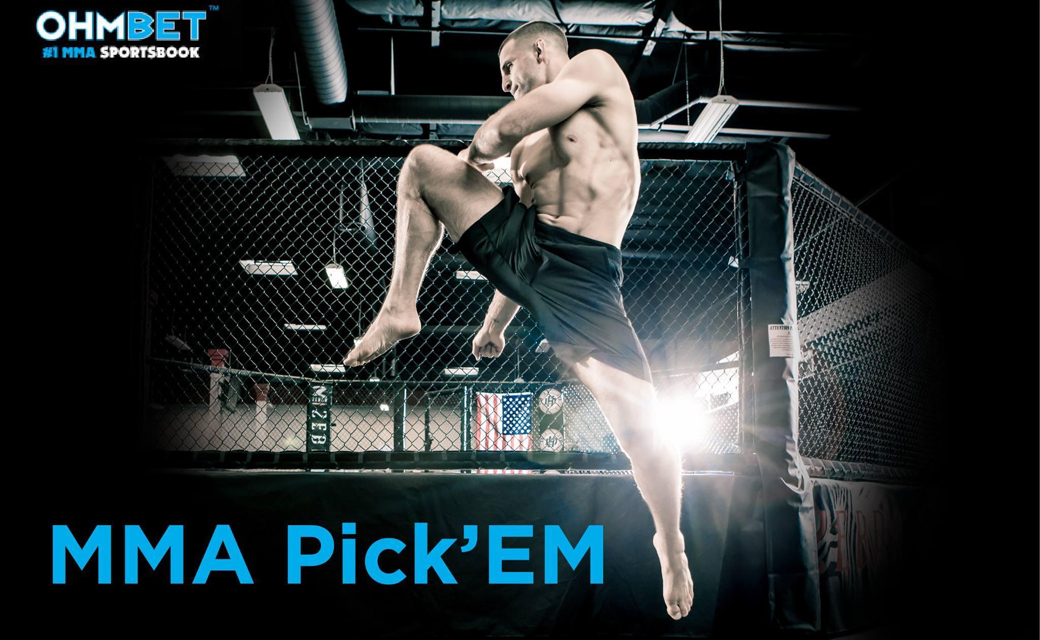 MMA Pick'Em Ohmbet