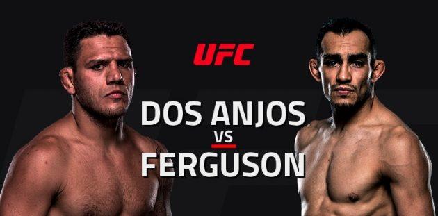 UFC Fight Night 98: Dos Anjos vs. Ferguson – Livestatistik och Resultat