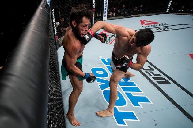 Video: Vicente Luque knockar Belal Muhammad tidigt i första ronden