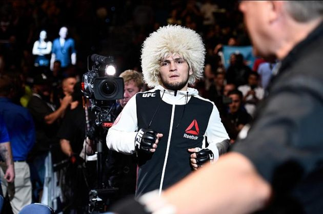 "Khabib Time: Se mötet som tog ""The Eagle"" Nurmagomedov till toppen"