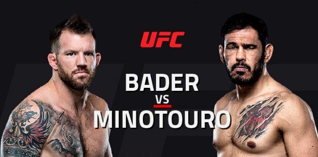 UFC Fight Night 100: Bader vs. Nogueira II – Livestatistik och resultat