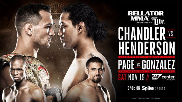Video: Se höjdpunkterna från nattens Bellator 165: Chandler vs. Henderson