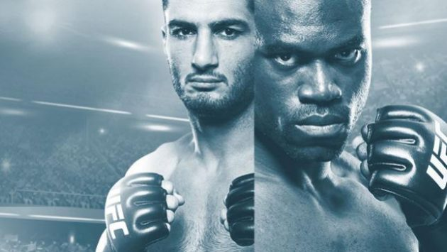UFC Fight Night 99: Mousasi vs. Hall II – Fullständiga resultat