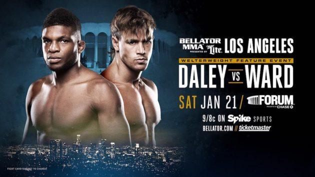 Paul Daley vs. Brennan Ward klart för Bellator 170