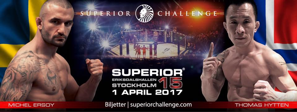 Michel Ersoy vs. Thomas Hytten - Superior Challenge