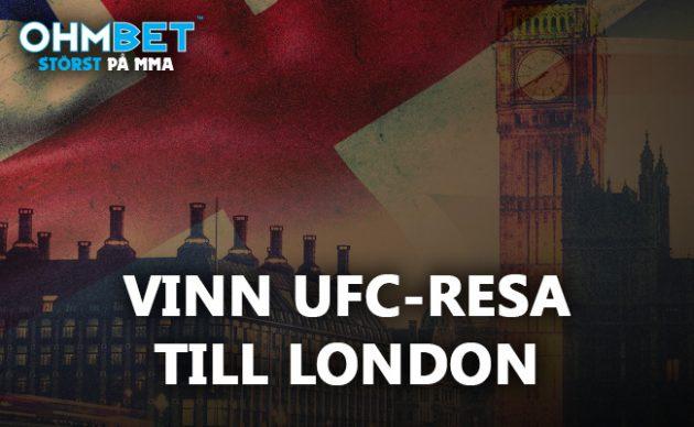 Vinn resa för två till UFC London!