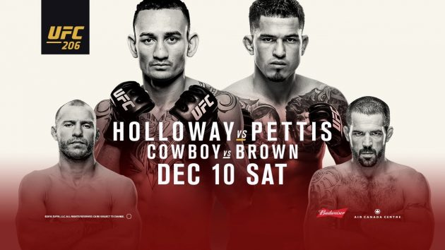 UFC 206: Inside the Octagon – Holloway vs. Pettis med Dan Hardy