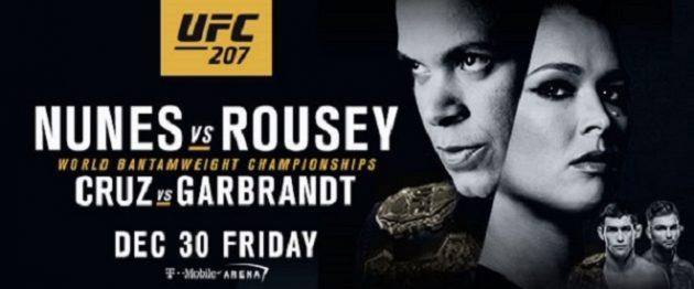 Fullständig lönelista UFC 207: Nunes vs. Rousey – Ronda Rousey i en liga för sig