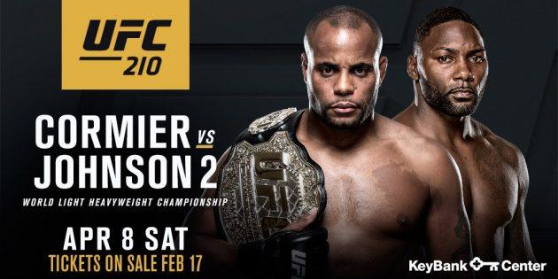 Senaste nytt: Daniel Cormier vs. Anthony Johnson 2 klart för UFC 210