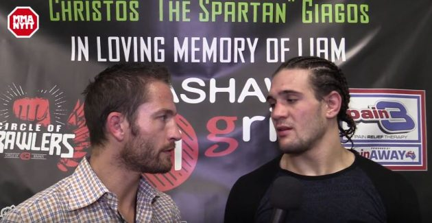 """Christos Giagos hoppas på en ny chans i UFC: """"Vad mer måste jag göra?"""""""