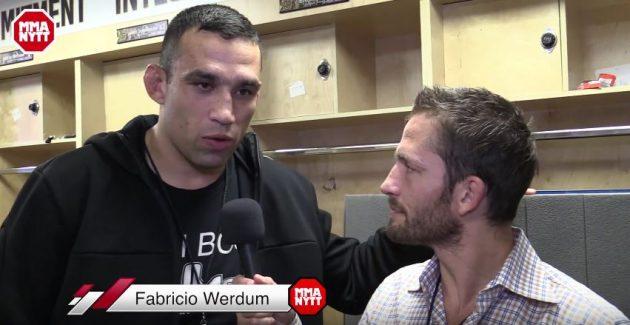 """Exklusiv intervju med Fabricio Werdum: """"Det är dags för titelmatch"""""""