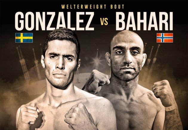 Senaste nytt: Fernando Gonzales möter Mohsen Bahari under Cage Warriors 80