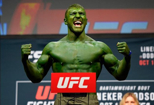"""Frankenstein"" vs. ""The Hulk"" på gång inför UFC Fight Night i Brasilien"
