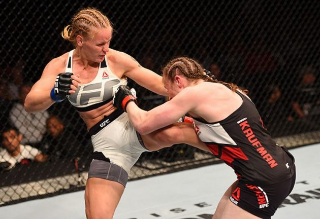 Återupplev Valentina Shevchenkos UFC-debut mot Sarah Kaufman
