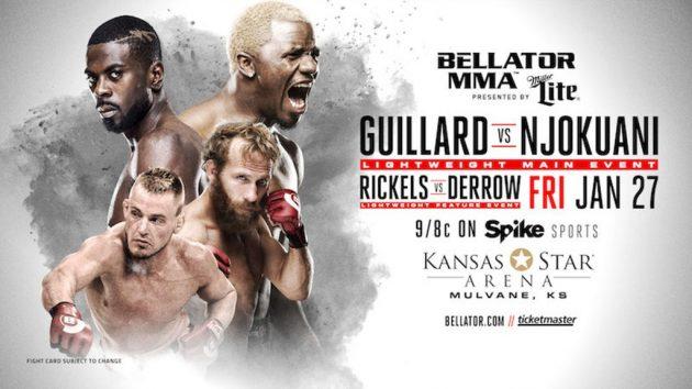 Bellator 171: Guillard vs. Njokuani – Matchkortet, Tiderna och Oddsen