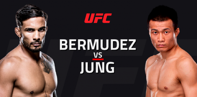 UFC Fight Night 104: Bermudez vs. Korean Zombie – Livestatistik och Resultat