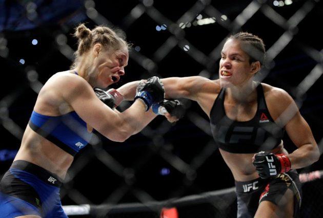 """Amanda Nunes ber om ursäkt till Ronda Rousey: """"Jag blev överväldigad"""""""
