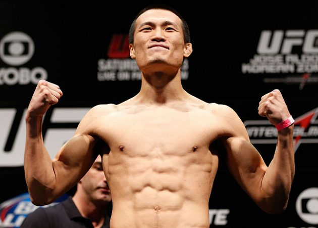 UFC Fight Night 104: Bermudez vs. Korean Zombie – Invägningsresultat