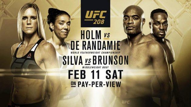 UFC 208 Countdown – Se hela avsnittet med Holm, Randamie, Silva och Brunson