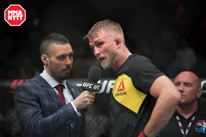 UFC REEBOK MMA Alexander Gustafsson The Mauler White Sweden