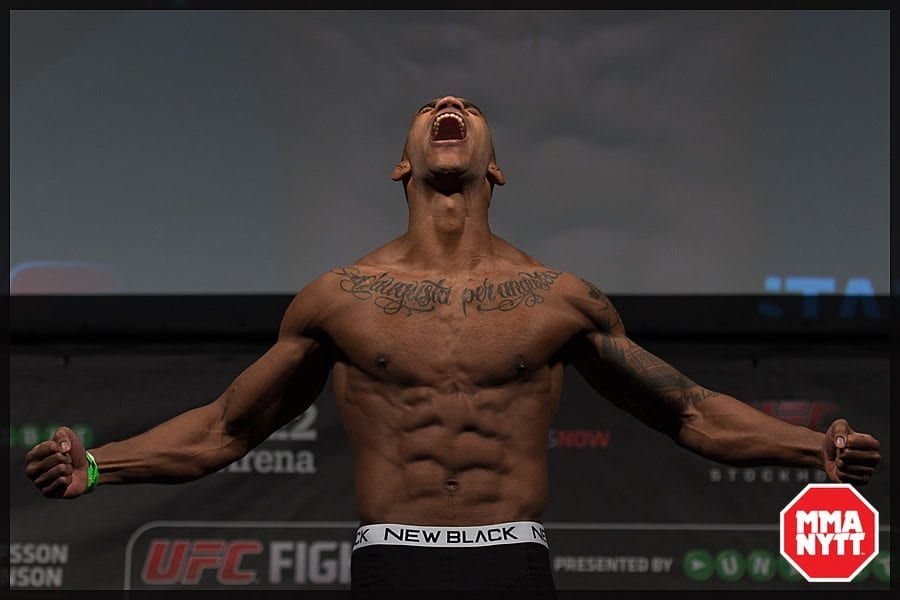 Nico Musoke. Foto: Micha Forssberg/MMAnytt
