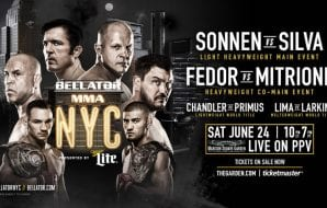 Bellator MMA NYC 180 MMAnytt
