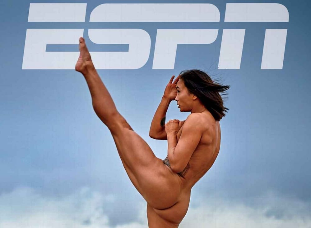 Michelle Waterson The Karate Hottie ESPN The Body Issue Magazine Nude MMA UFC MMAnytt