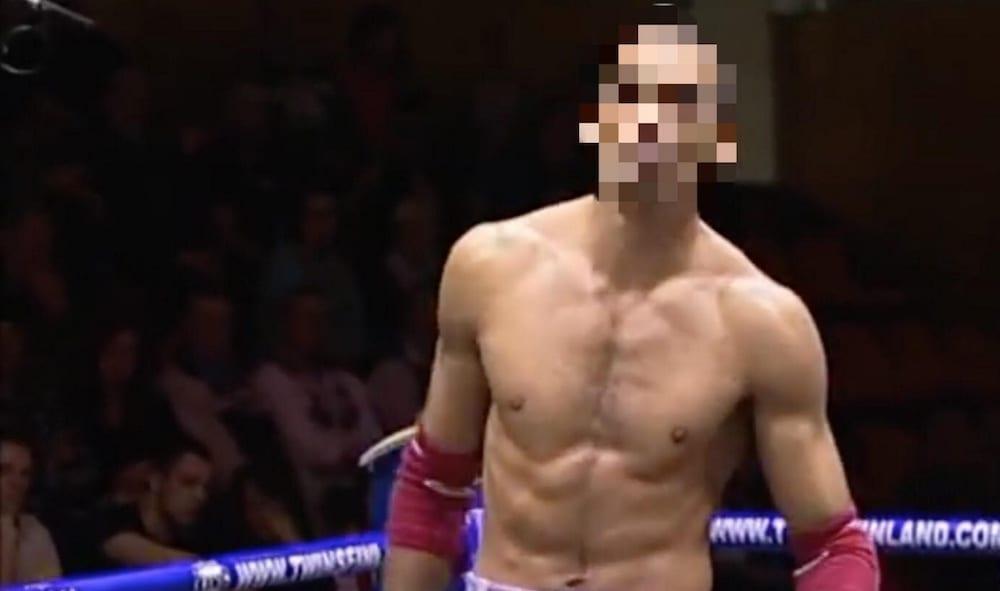 Patrick Johan Fathi Loverfelt, svensk mästare i thaiboxning, dömdes den 29 juni i Svea hovrätt för grov misshandel, otillåtet innehav av ammunition samt tre olika fall av narkotikabrott. Foto via YouTube/Turku Muay Thai