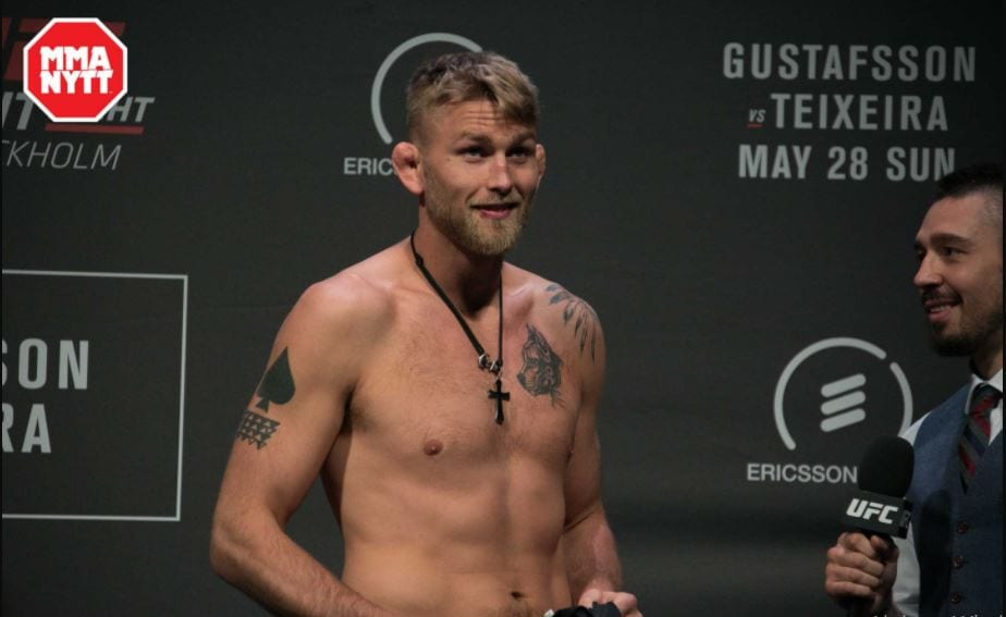 Alexander Gustafsson skada