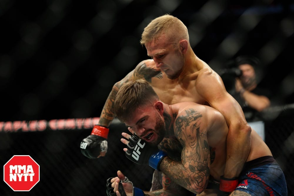 TJ Dillashaw vs Cody Garbrandt UFC 227 MMAnytt Photo Dan Wainer-Ag Fight 2