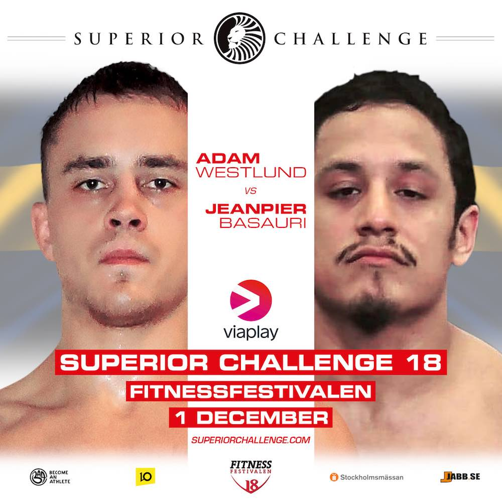 Adam Westlund Christopher Jeanpier Basauri Superior Challenge 18 MMAnytt