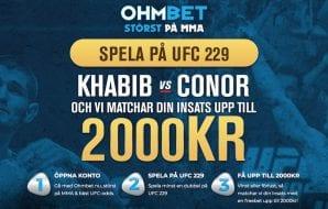 Ohmbet UFC 229: Khabib vs. McGregor