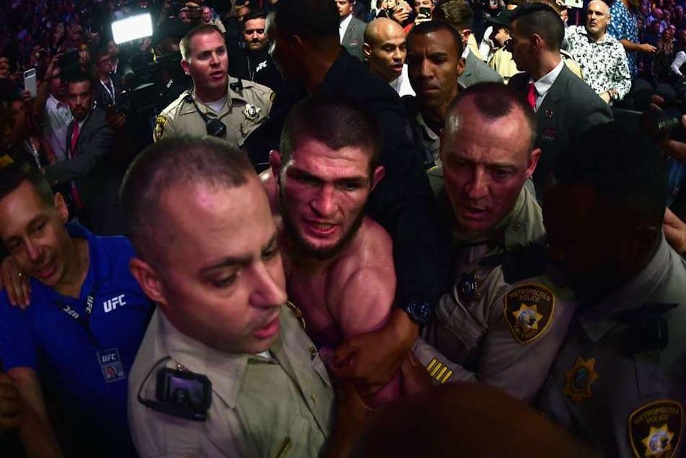 UFC 229 bråk