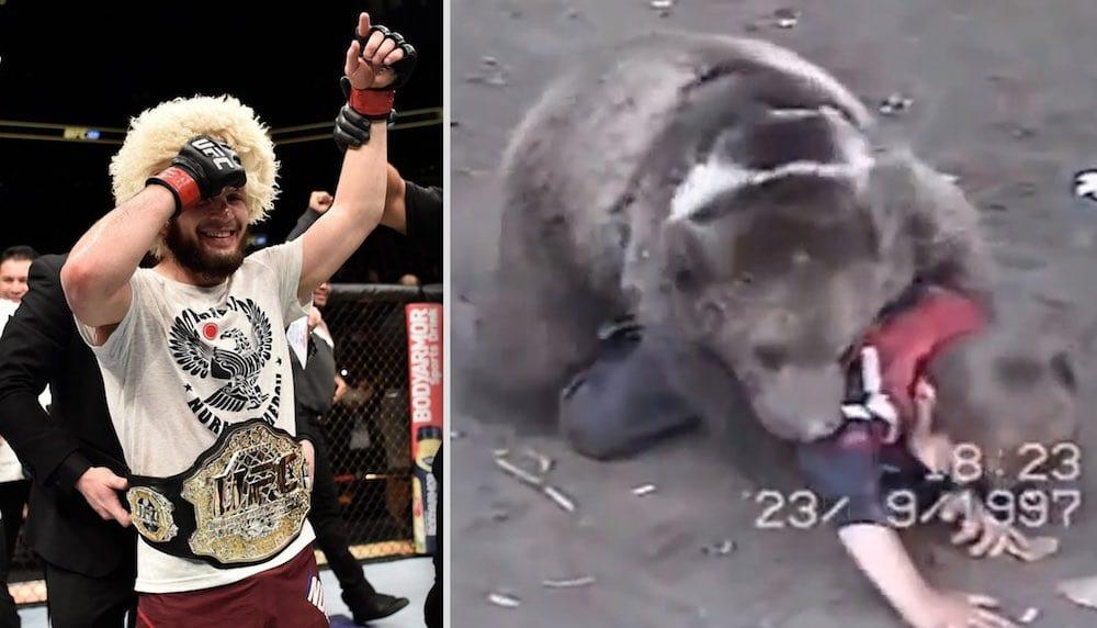 Khabib Nurmagomedov vs Bear
