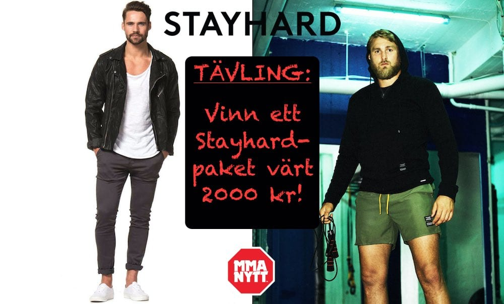 Tävling Stayhard.se / MMAnytt.se