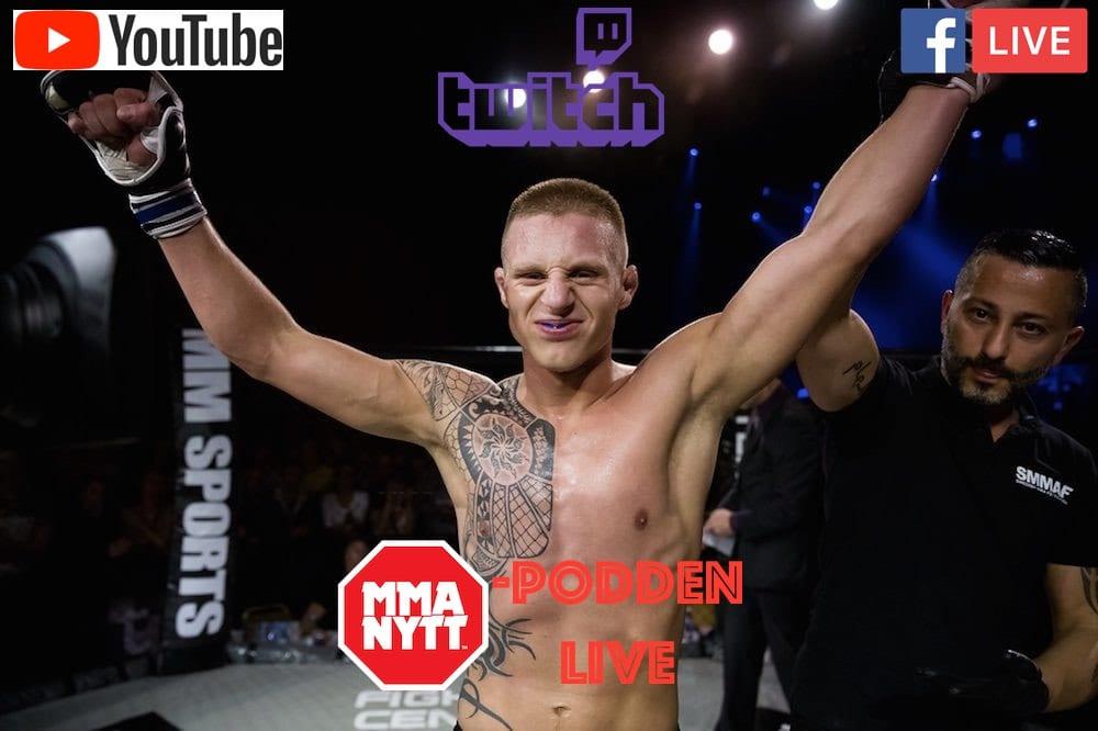 Tobias Harila MMAnytt-podden
