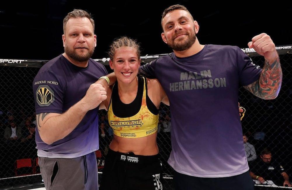 MMAnytt-podden Malin Hermansson