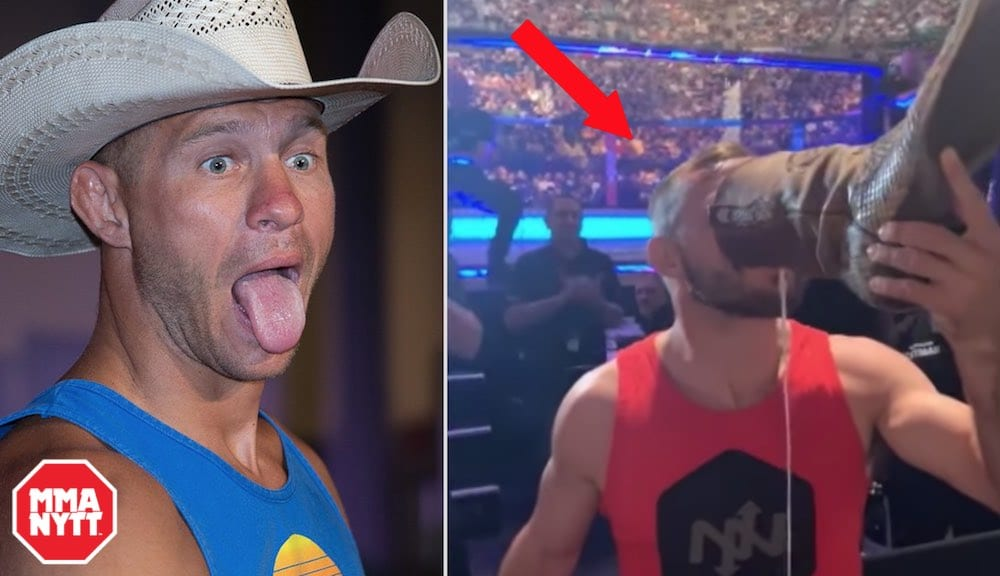 Donald Cerrone Shoey