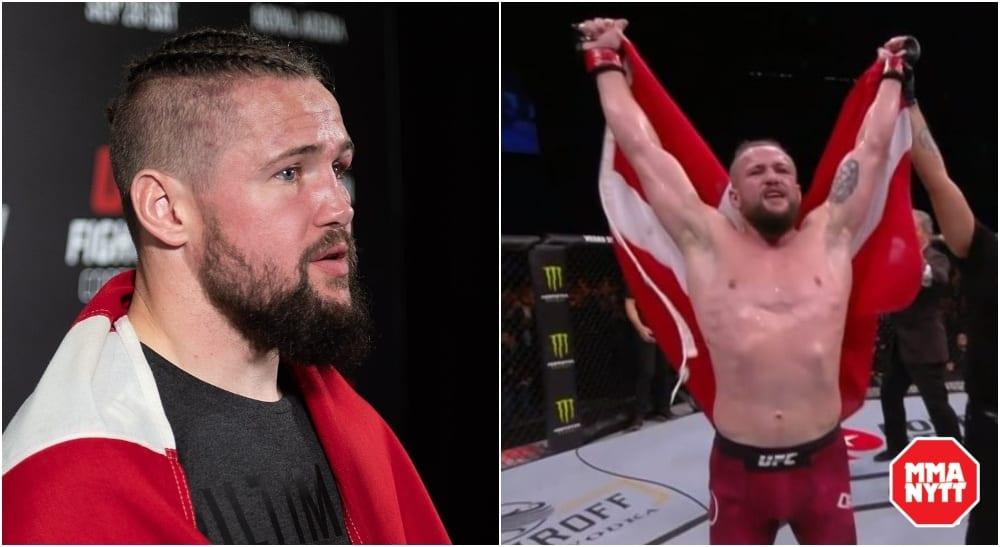 UFC Danmark Nicolas Dalby