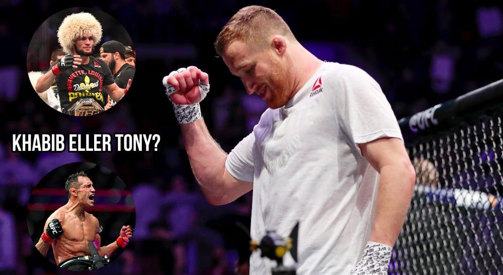Justin Gaethje MMA: UFC Fight Night-Philadelphia-Barboza v Gaethje (© Bill Streicher-USA TODAY Sports