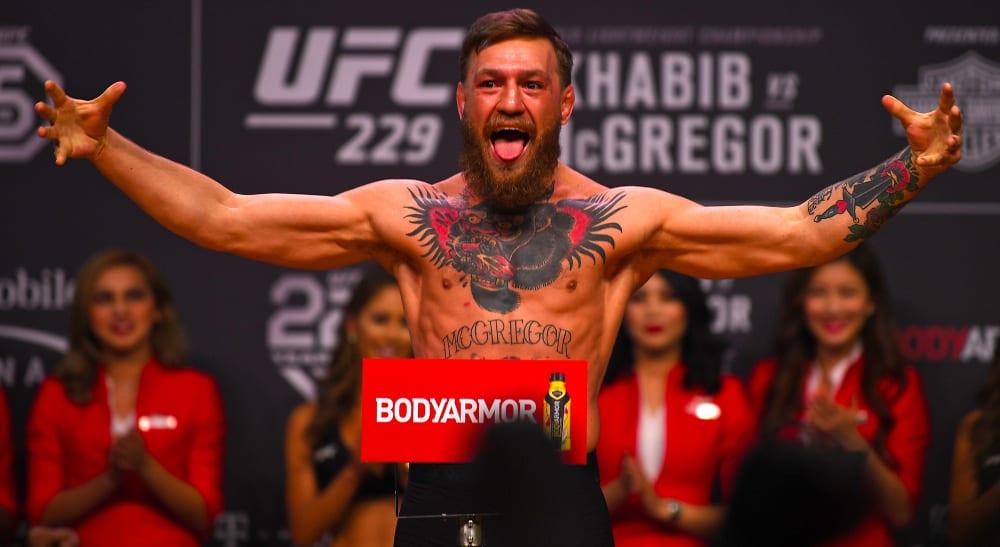 Conor McGregor gör comeback på UFC 246