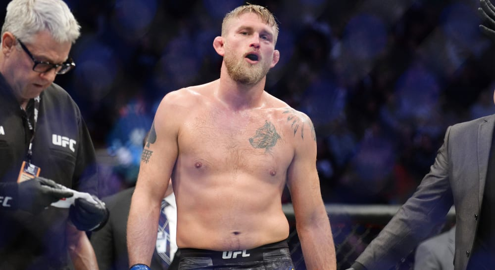 Alexander Gustafsson UFC Fight Island 3