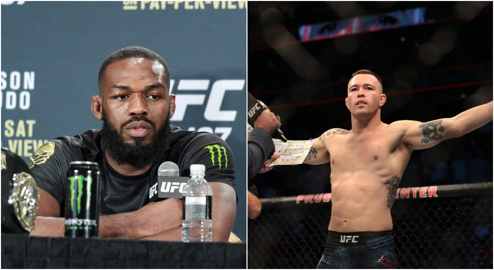 Jon Jones Colby Covington